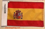 Motorcycle Flag- Spain Espana